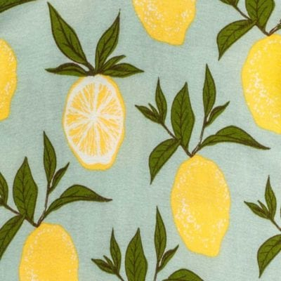 Lemon Apparel Print by Milkbarn Kids