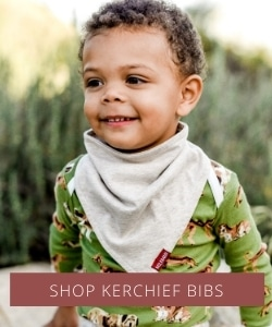 Kerchief Bibs by Milkbarn Kids